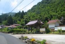 12 石見銀山_大森地区から龍源寺間歩へ続く沿道の風景