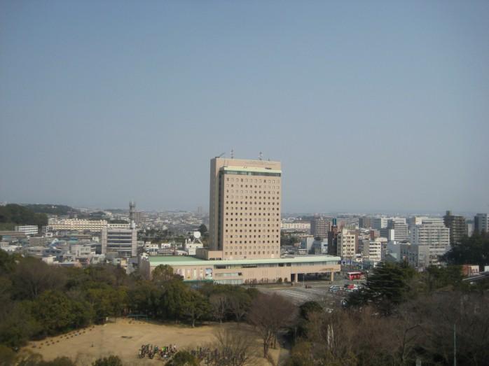 15 浜松城_天守閣からの眺望