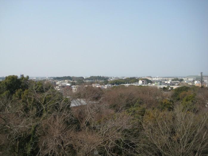 13 浜松城_天守閣からの眺望
