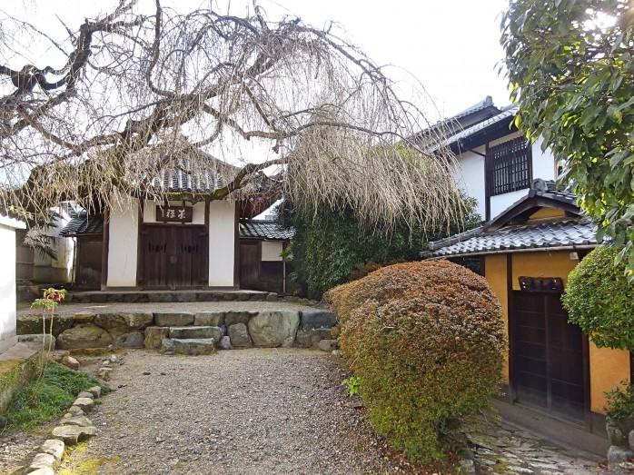 07 萬福寺_売茶堂(左)と有声軒(右)
