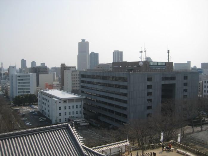 09 浜松城_天守閣からの眺望