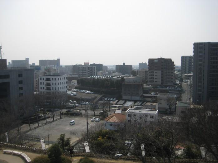 10 浜松城_天守閣からの眺望