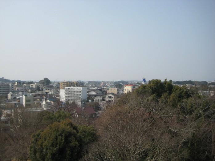 12 浜松城_天守閣からの眺望