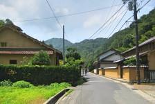 10 石見銀山_大森地区から龍源寺間歩へ続く沿道の風景