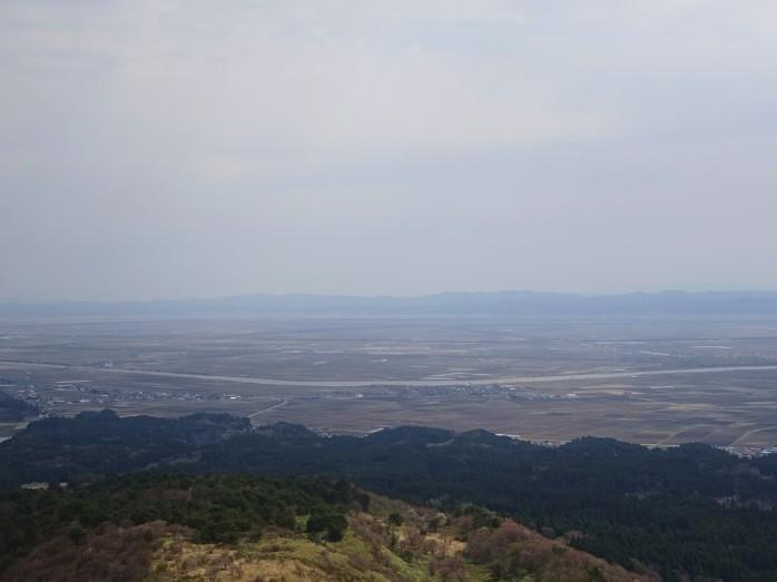 05 寒風山からの眺望_八郎潟干拓地