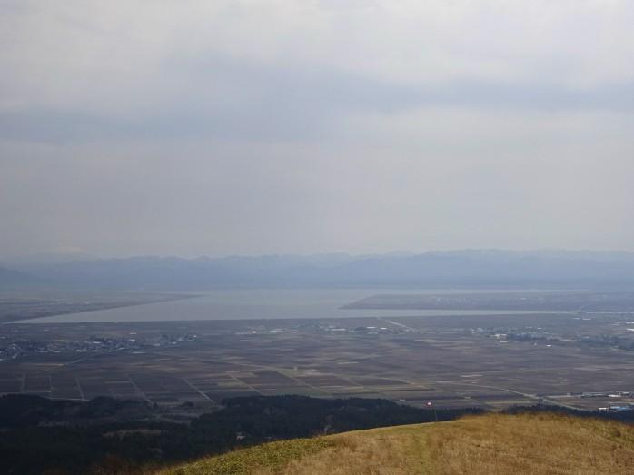 11 寒風山からの眺望_かつて日本で2番目の大きさを誇った湖・八郎潟