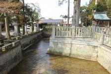 03 多賀大社_太閤橋の架かる車戸川