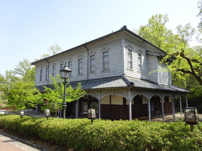 07 博物館明治村_千早赤坂小学校講堂