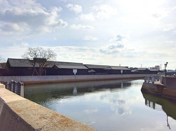 03 半田運河とミツカンの醸造蔵