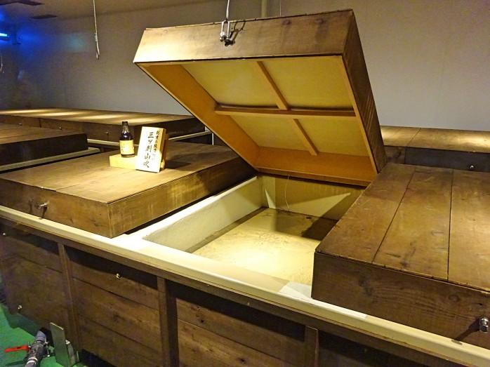 08 粕酢の発酵工程(ミツカンミュージアム)