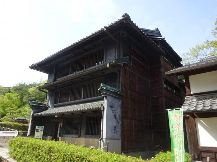 10 博物館明治村_東松家住宅(重要文化財)