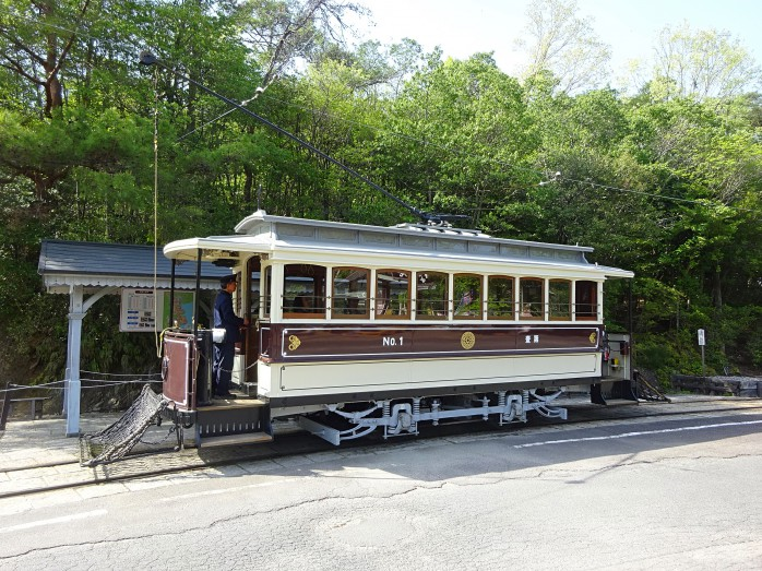 13 博物館明治村_旧京都電気鉄道(後に京都市電)の車両(狭軌1型)