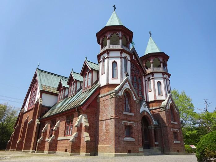 03 博物館明治村_京都聖ヨハネ教会堂(重要文化財)