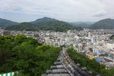 16 宇和島城_天守閣からの眺望
