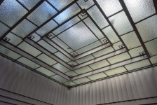 11 氷川丸_一等喫煙室の天井