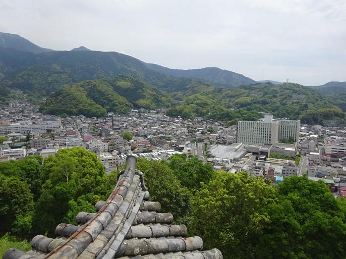 14 宇和島城_天守閣からの眺望