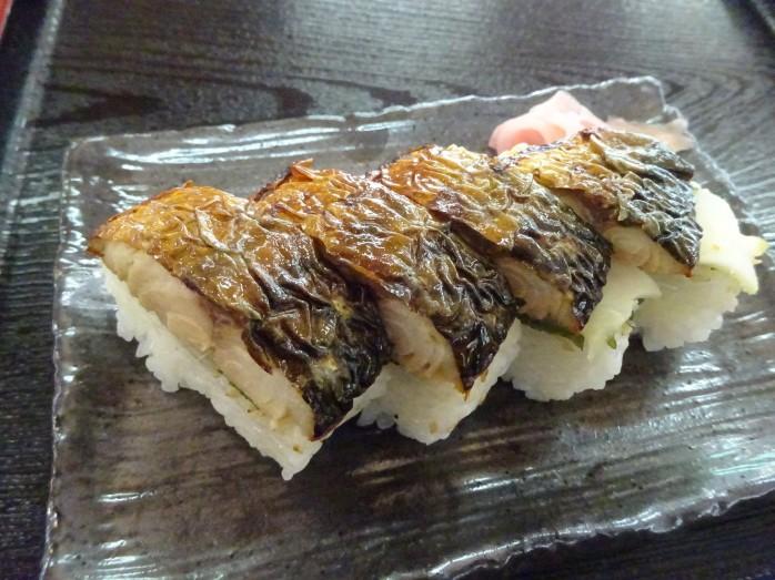 14 熊川宿_焼きさば寿司