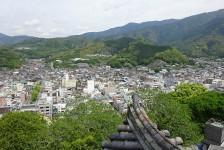15 宇和島城_天守閣からの眺望