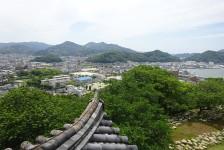 13 宇和島城_天守閣からの眺望
