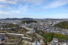 14 姫路城からの眺望
