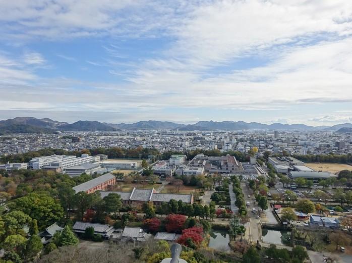 16 姫路城からの眺望