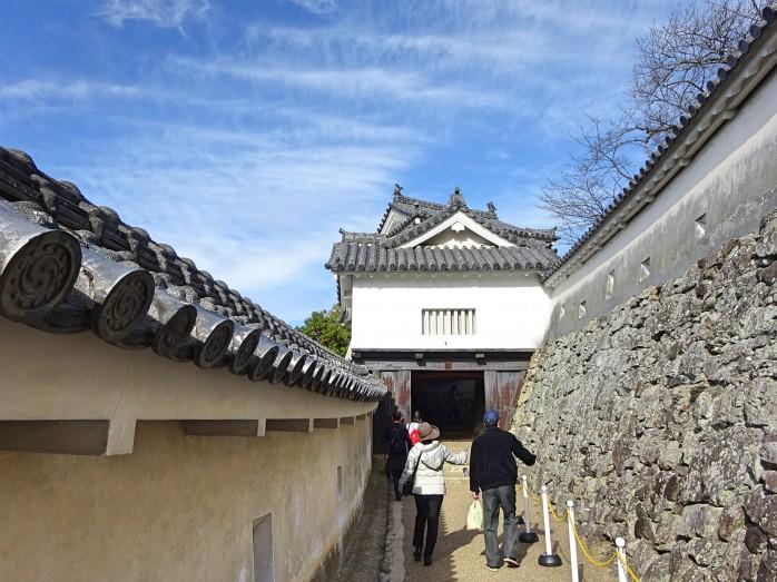 07 姫路城_にの門