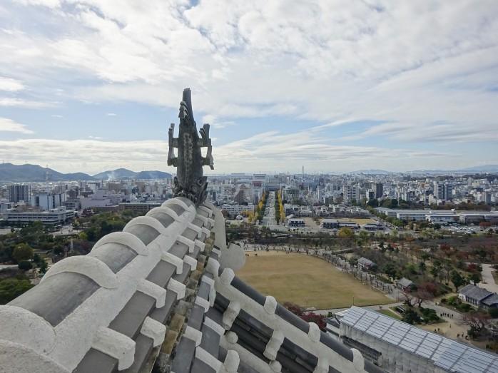 15 姫路城からの眺望