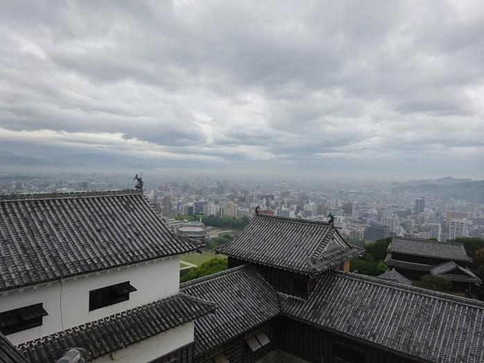 16 松山城天守からの眺望