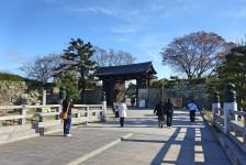 01 姫路城_桜門橋と大手門
