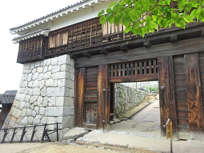 05 松山城_筒井門
