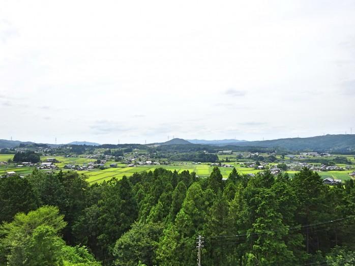 09 岩村町富田地区(農村景観日本一展望所からの眺め)