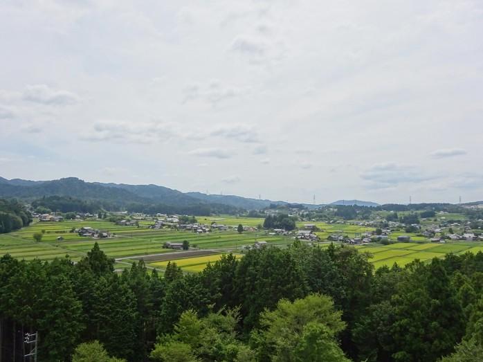 01 岩村町富田地区(農村景観日本一展望所からの眺め)