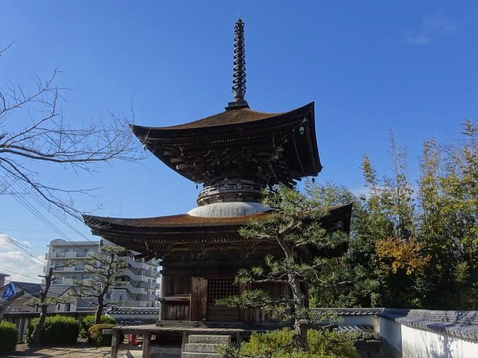 09 大樹寺_松平清康(家康の祖父)建立の多宝塔