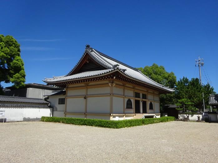 10 14代徳川将軍の位牌が祀られている宝物殿(位牌堂)